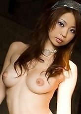 Hot Asian babe likes showing her body off